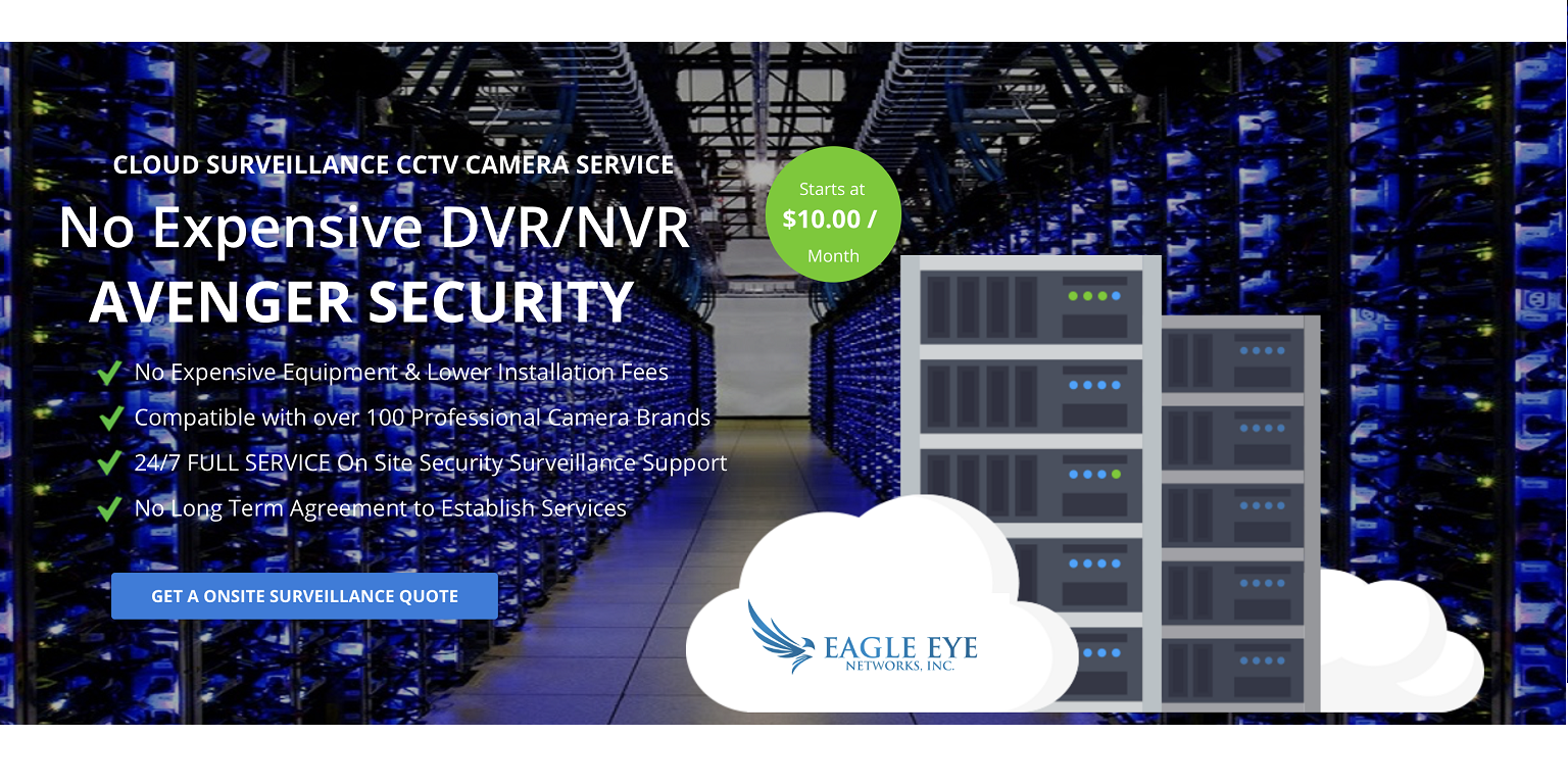 video surveillance in the cloud by Master Integrators.