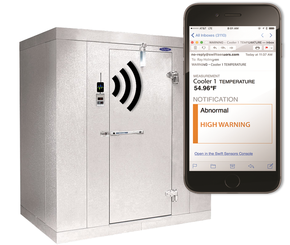 Cloud Based RMR refrigeration monitoring services